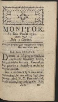 Monitor R.1781 Nr 95