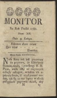 Monitor. R.1782 Nr 12