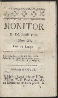 Monitor. R.1782 Nr 15