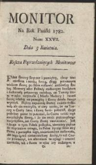 Monitor. R.1782 Nr 27