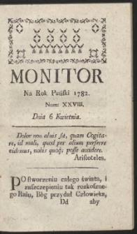 Monitor. R.1782 Nr 28