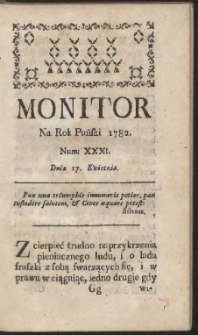 Monitor. R.1782 Nr 31
