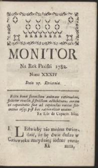 Monitor. R.1782 Nr 34