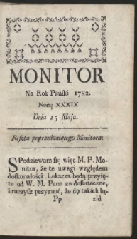Monitor. R.1782 Nr 39
