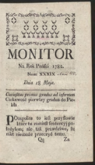 Monitor. R.1782 Nr 40