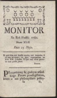 Monitor. R.1782 Nr 42