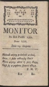 Monitor. R.1782 Nr 65