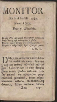 Monitor. R.1782 Nr 72