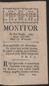 Monitor. R.1782 Nr 77