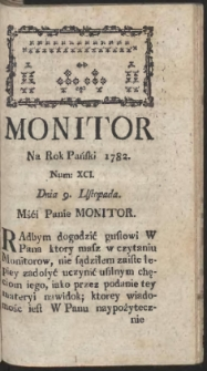 Monitor. R.1782 Nr 91