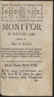 Monitor. R.1782 Nr 100