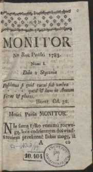 Monitor. R.1783 Nr 1