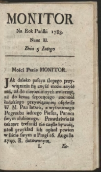 Monitor. R.1783 Nr 11
