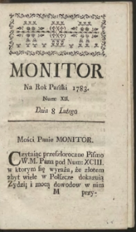 Monitor. R.1783 Nr 12