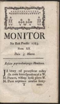 Monitor. R.1783 Nr 19