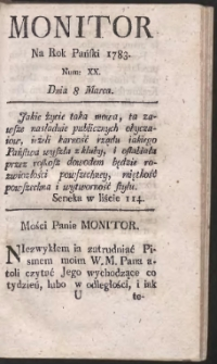 Monitor. R.1783 Nr 20