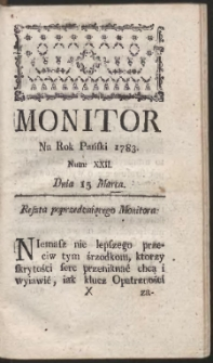 Monitor. R.1783 Nr 22
