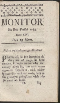Monitor. R.1783 Nr 26
