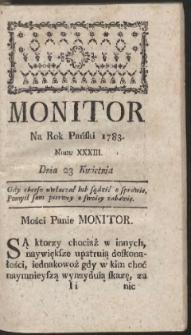 Monitor. R.1783 Nr 33