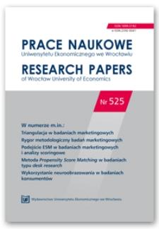 Metodyczne aspekty badań mechanizmów decyzji konsumenckich w oparciu o wieloatrybutowy model postaw i dwuprocesualny model przetwarzania informacji