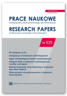 Obserwacja jako metoda badania wybranych aspektów zachowań nabywców w sklepach wielkopowierzchniowych