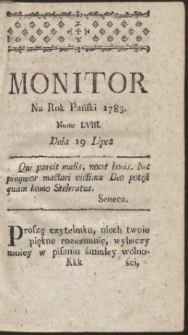 Monitor. R.1783 Nr 58