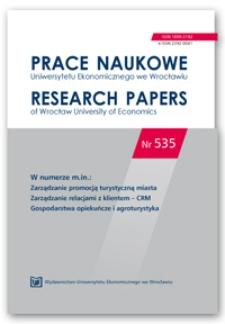 Implementacja systemów wspomagających zarządzanie relacjami z klientem klasy CRM w praktyce funkcjonowania biur podróży w Polsce – dekada doświadczeń