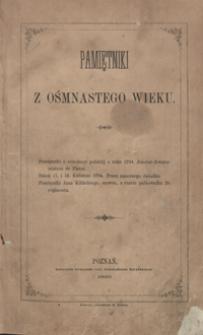 Pamiętniki o rewolucyi polskiéj z roku 1794