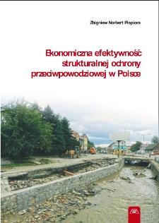 Ekonomiczna efektywność strukturalnej ochrony przeciwpowodziowej w Polsce