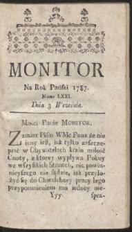 Monitor. R.1783 Nr 71