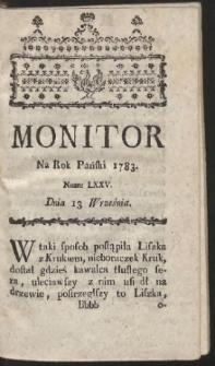Monitor. R.1783 Nr 75