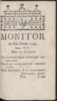 Monitor. R.1783 Nr 92