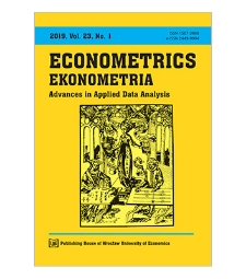 Contents [Econometrics = Ekonometria, 2019, Vol. 23, No.1]
