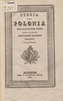 Storia della Polonia fino agli ultimi tempi. Volume II