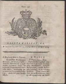 Gazeta Warszawska. R.1774 Nr 47