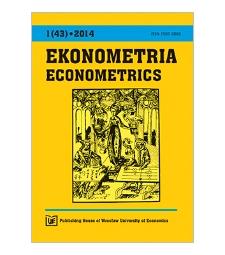 Contents [Ekonometria = Econometrics, 2014, Nr 1 (43)]