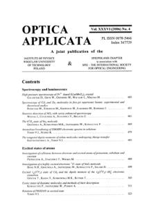 Investigation of atmospheric aerosol with multiwavelength lidar