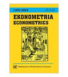 Contents [Ekonometria = Econometrics, 2015, Nr 1 (47)]