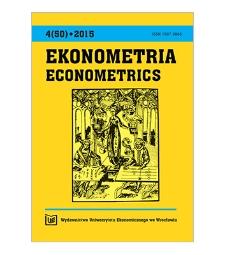 Spis treści / Conntent [Ekonometria = Econometrics, 2015, Nr 4 (50)]