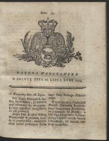 Gazeta Warszawska. R.1774 Nr 57