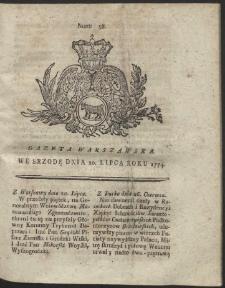 Gazeta Warszawska. R.1774 Nr 58