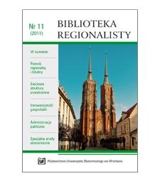 Spis treści [Biblioteka Regionalisty, 2011, Nr 11]