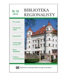 Spis treści [Biblioteka Regionalisty, 2010, Nr 10]