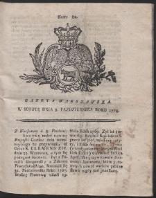 Gazeta Warszawska. R.1774 Nr 81