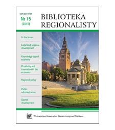 Spis treści [Biblioteka Regionalisty, 2015, Nr 15]