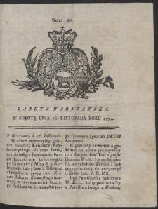 Gazeta Warszawska. R.1774 Nr 95