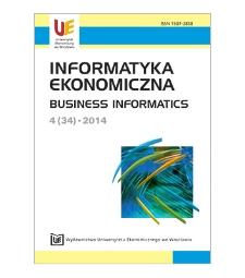 Contents [Informatyka Ekonomiczna = Business Informatics, 2014, Nr 4 (34)]