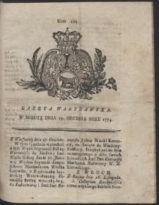 Gazeta Warszawska. R.1774 Nr 101