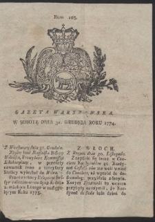 Gazeta Warszawska. R.1774 Nr 105