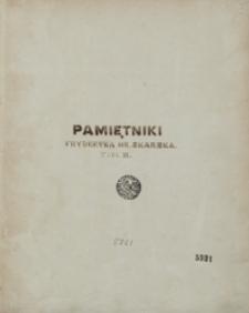 Moje pamiętniki [z lat 1792-1863]